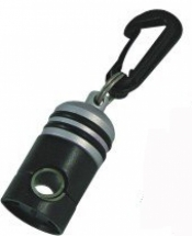 "Magnetic Hose Holder ""SILVER w/ Black Body"" - Product Image"