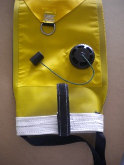 """Manta Ind. 6 Foot High Vis Yellow Smb """"Open Style"""" """"2 Only"""" - Product Image"""