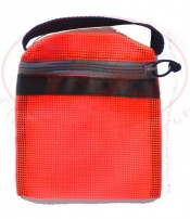 "Mesh Weight Pocket Inserts 15lb Size ""Safety Orange"" **ONE Pocket** - Product Image"