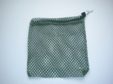 "Mini Drawstring Mesh Bag ""Green"" - Product Image"
