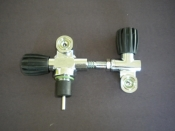Modular 300 Bar DIN Valve Right Side W/ Left Hand H Valve COMPLETE - Product Image