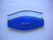 "Neoprene Mask Strap Cover ""Ocean Blue / White"" ""1 Only!"" - Product Image"