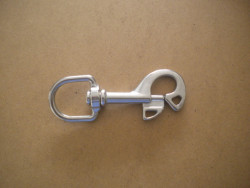 """New! 1"""" Round Swivel Butterfly Snap SS - Product Image"""