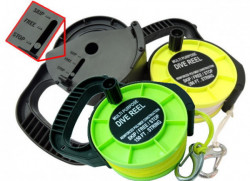 "New! 150' Recreational Reel w/ Yellow Line! ""Black Body"" - Product Image"