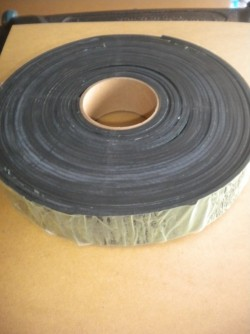 "2"" Inch Rubber Webbing ""Sold by the FOOT!"" - Product Image"