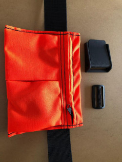 "New! 2 Pocket Weight Pocket ""Safety Orange"" - Product Image"