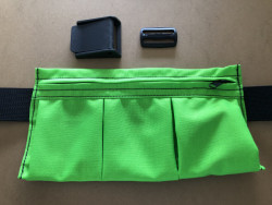 "New! 3 Pocket Weight Pocket ""Neon Green"" - Product Image"