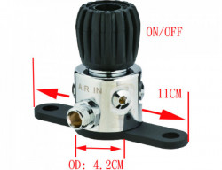 New! 3 Way Manifold Block Low Pressure - Product Image