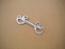 """New!  4 1/4"""" Stainless Steel BUTTERFLY Double Ender - Product Image"""
