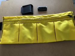 "New! 4 Pocket Weight Pocket ""High Viz Safety Yellow"" - Product Image"
