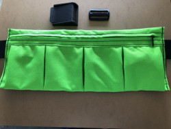 "New! 4 Pocket Weight Pocket ""Neon Green"" - Product Image"