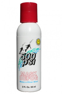 500 Psi Masks Defog 2oz / 59ml Bottle - Product Image