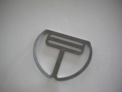 "Backmount Clip ""Slight Angled Plate""  w/ No Teeth - Product Image"