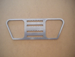 "New Rear Backmounted Style Tec Clip ""Flat Plate"" w/ Teeth - Product Image"