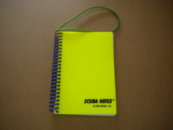 New! Compact Hard Cover Wet Notes w/ Graphite Pencil - Product Image