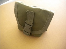 "Deluxe Small Weight Pocket in Military GREEN   ""Removable Type"" Holds knifes, weights or misc!  - Product Image"