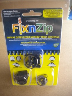 New! Fix n Zip Zipper Repair Kit - Product Image