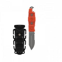 "Gear Aid Buri Sword Tip Knife ""Orange Handle / Back Sheath"" - Product Image"