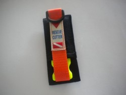 New Intro! Emergency Rescue Cutter w/ Pouch - Product Image