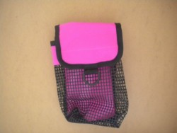 "Mesh Pocket! ""Fuchsia / Pink Pocket!"" - Product Image"