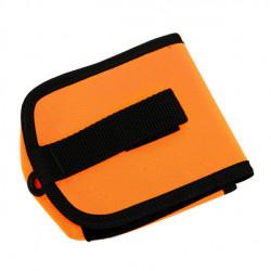 "Piranha Dive Mfg 4.4lbs Quick Attach / Release Pocket ""Orange"" Per Piece! - Product Image"