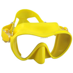 "Explorer III  Single Lens Mask low volume ""Safety Yellow Model"" - Product Image"