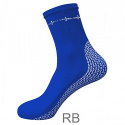 "New! Pro Spandex Socks ""Color: Ocean Blue""  - Product Image"