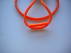 New! Regulator Necklace ORANGE Large Size - Product Image