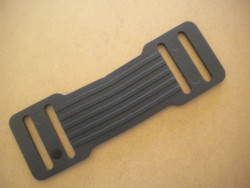 "Rubber Shoulder Pad for 2"" inch Webbing Harnesses ""Priced per 1 piece"" - Product Image"