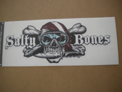 New! Salty Bones Transfer Decal - Product Image