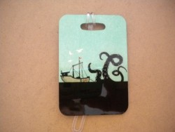 "New! Ship Attack Luggage Tag   ""One Tag Price"" - Product Image"
