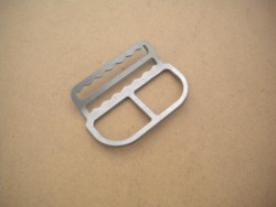 """New! Shoulder or Waist Clip W/ Teeth """"Bent style""""  - Product Image"""