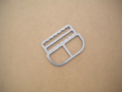 """New! Shoulder or Waist Clip w/ Teeth """"Flat style""""  - Product Image"""