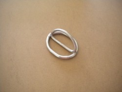 Slide Locking Low Profile D-Ring - Product Image