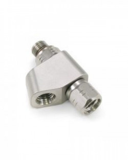"Omni Swivel High Pressure Dual Ports ""Y"" Adapter 7/16-20 Threading - Product Image"