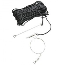 One Way Fish Stringer 66ft (20M) **Black Line** **1 Only** - Product Image