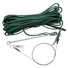 One Way Fish Stringer 66ft (20M) **Green Line** **1 Only** - Product Image