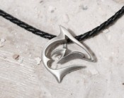 Pewter Reef Shark Necklace - Product Image
