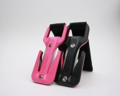 "Pink & Black Sided Trilobite Line Cutter Harness Pouch  ""Licorice Allsorts"" - Product Image"