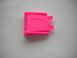 Pink Plastic 3 slot Buckle - Product Image
