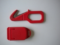 "Piranha Extreme Line Cutter ""RED""  W/ Shealth   - Product Image"