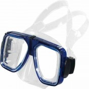 "Piranha Navigator Dive Mask Medium Face Size ""Has Go Pro Clip""   "" Select Color""    ""Accepts Lenses"" - Product Image"