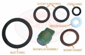 "Piranha Pro Valve Viton Service Kit   ""Nitrox Ready Kit"" - Product Image"