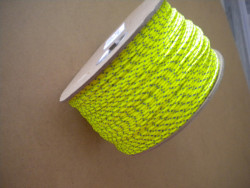 """New Color! Piranha Professional Grade #24 Dive Line 675ft  """"High Viz Yellow w/ BLUE Tracer"""" - Product Image"""