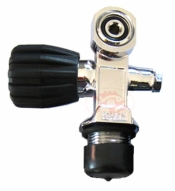 "Piranha Right Side Pro Valve ""polished"" 3000psi Nitrox Ready - Product Image"