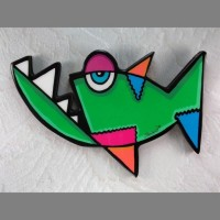 Piranha Wall Art - Product Image