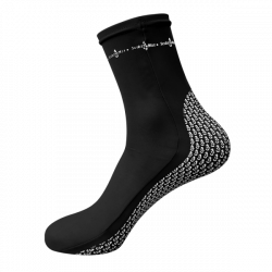 "New! Pro Spandex Socks ""Color: Black""  - Product Image"