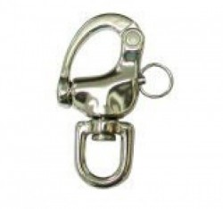 "Quick Release Stainless Steel Snap Shackle ""Small Size"" - Product Image"