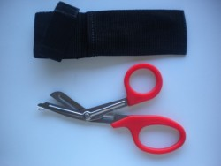 RED Handle Shears with pouch  - Product Image