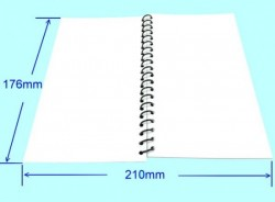 Refill for Standard & Deluxe Underwater Note Books - Product Image